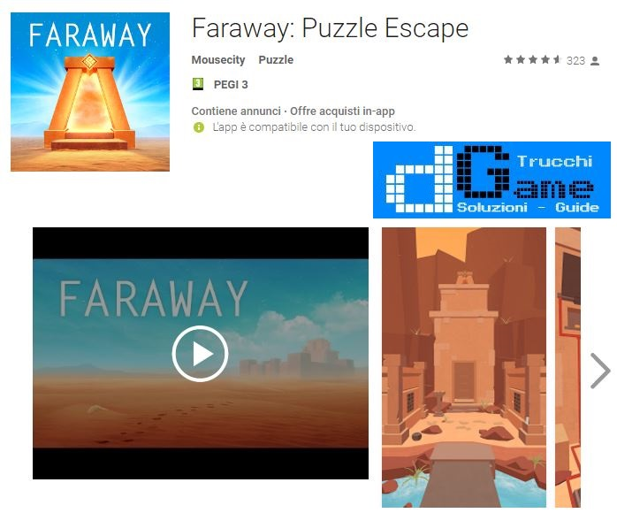 Soluzioni Faraway: Puzzle Escape livello 11 12 13 14 15 16 17 18 19 20 | Trucchi e Walkthrough level