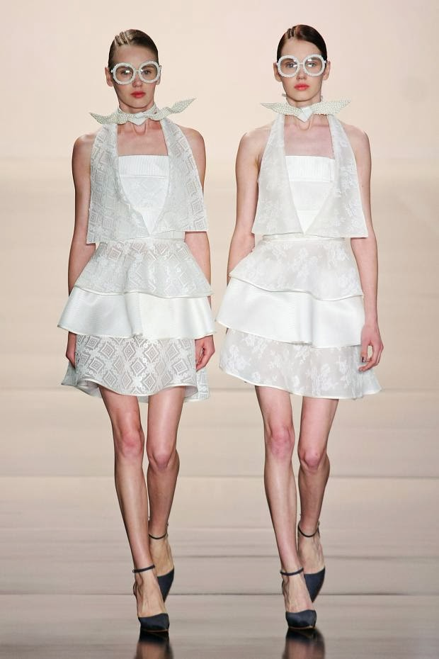 Acquastudio Spring 2014 NYFW : Cool Chic Style Fashion