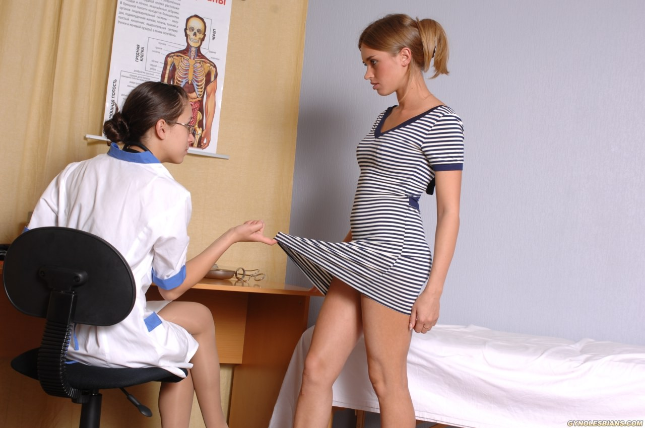 Lesbian Doctor And Shy Teen Wrapper
