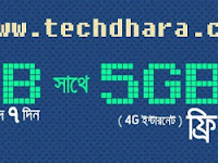 Grameenphone 10GB internet data at only Taka 198 for 7 days