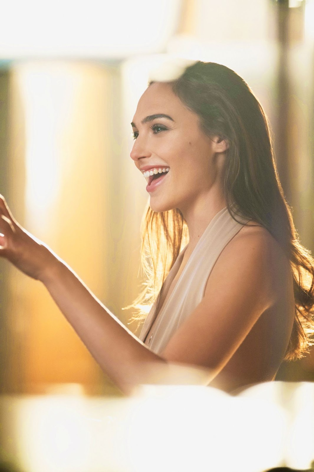 Gal Gadot HQ PhotoShoot For Gucci Bamboo Fragrance