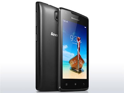 Lenovo A1000 Specifications - LAUNCH Announced 2015, September Status  DISPLAY Type TFT capacitive touchscreen Size 4.0 inches (~57.2% screen-to-body ratio) Resolution 480 x 800 pixels (~233 ppi pixel density) Multitouch Yes, up to 2 fingers BODY Dimensions 124.5 x 64 x 10.6 mm (4.90 x 2.52 x 0.42 in) Weight 132 g (4.66 oz) SIM Dual SIM (Mini-SIM, dual stand-by) PLATFORM OS Android OS, v5.0 (Lollipop) CPU Quad-core 1.3 GHz Cortex-A7 Chipset Spreadtrum SC7731 GPU Mali-400MP2 MEMORY Card slot microSD, up to 32 GB (dedicated slot) Internal 8 GB, 1 GB RAM CAMERA Primary 5 MP, LED flash Secondary VGA Features Yes Video 720p NETWORK Technology GSM / HSPA 2G bands GSM 850 / 900 / 1800 / 1900 - SIM 1 & SIM 2 3G bands HSDPA 900 / 1900 / 2100 Speed HSPA 21.1/5.76 Mbps GPRS Yes EDGE Yes COMMS WLAN Wi-Fi 802.11 b/g/n, hotspot GPS Yes, with A-GPS USB microUSB v2.0 Radio FM radio Bluetooth v2.1, A2DP FEATURES Sensors Accelerometer Messaging SMS(threaded view), MMS, Email, Push Mail, IM Browser HTML Java No SOUND Alert types Vibration; MP3, WAV ringtones Loudspeaker Yes 3.5mm jack Yes BATTERY  Removable Li-Po 2000 mAh battery Stand-by  Talk time  Music play  MISC Colors Onyx Black, Pearl White  - MP4/H.264 player - MP3/WAV/eAAC+ player - Photo/video viewer - Document viewer