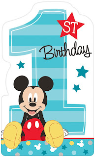 Mickey Mouse Theme Party Invitations