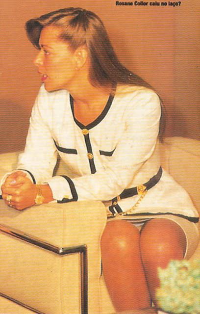 Rosane Collor roupa de primeira dama