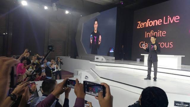 Asus Luncurkan Zenfone Zoom S dan Zenfone Live