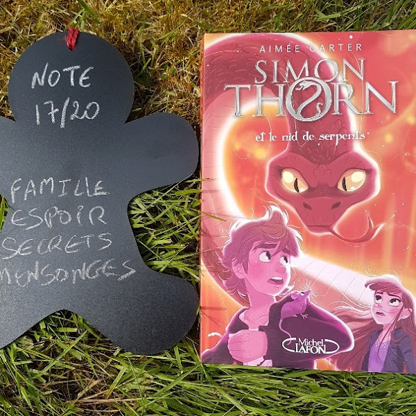 Simon Thorn, tome 2 : Simon Thorn et le nid de serpents de Aimée Carter