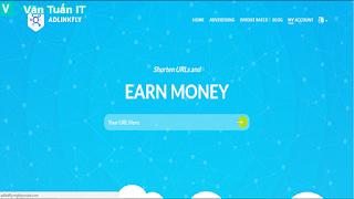 rút gọn link kiếm tiền adlinkfly