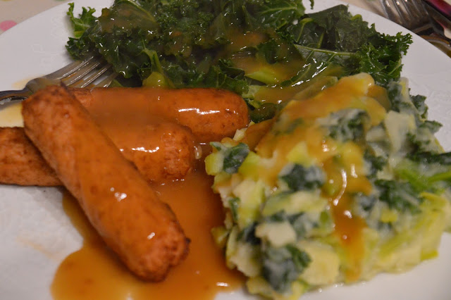 Vegan Sausages and Colcannon- St Patricks Day Irish Recipe