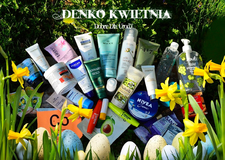 Kosmetyczne zużycia Kwietnia - DENKO 2019 w minirecenzjach