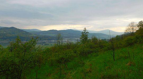 Panorama z Gachowizny.