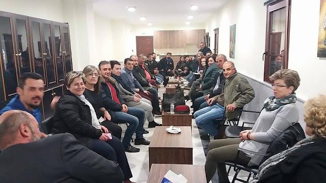 Επίσκεψη και γνωριμία του Σ.Πο.Σ Δυτικής Μακεδονίας – Ηπείρου με τα Ποντιακά Σωματεία της Εορδαίας