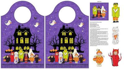 Light-up Trick-or-Treat Bag || bonnieprojects.blogspot.com