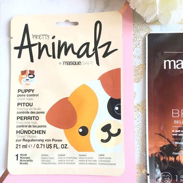 MasqueBAR Animalz Puppy Sheet Mask