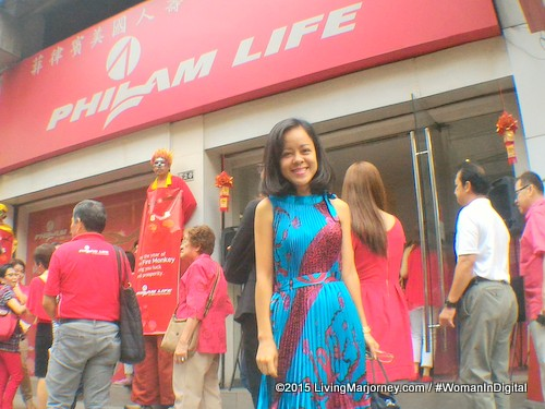 Chinese New Year Outfit At Philam Life CNY