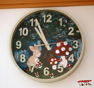 毒きのこ時計