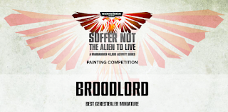 Tyranids Broodlord painting contest