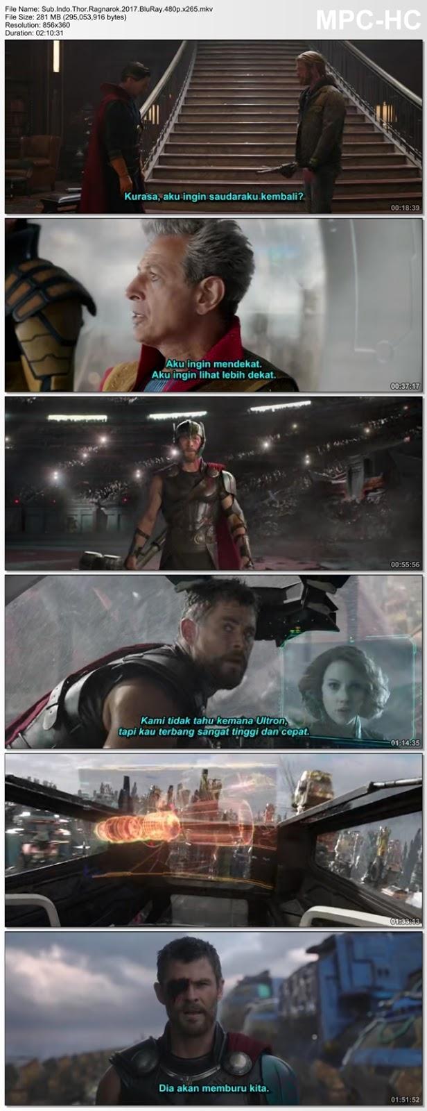 Screenshots Movie Sub.Indo.Thor.Ragnarok.2017.BluRay.480p.x265.mkv