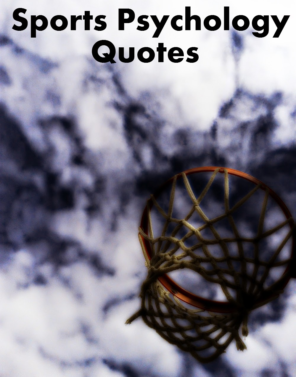 Sports and Performance Psychology Quotes