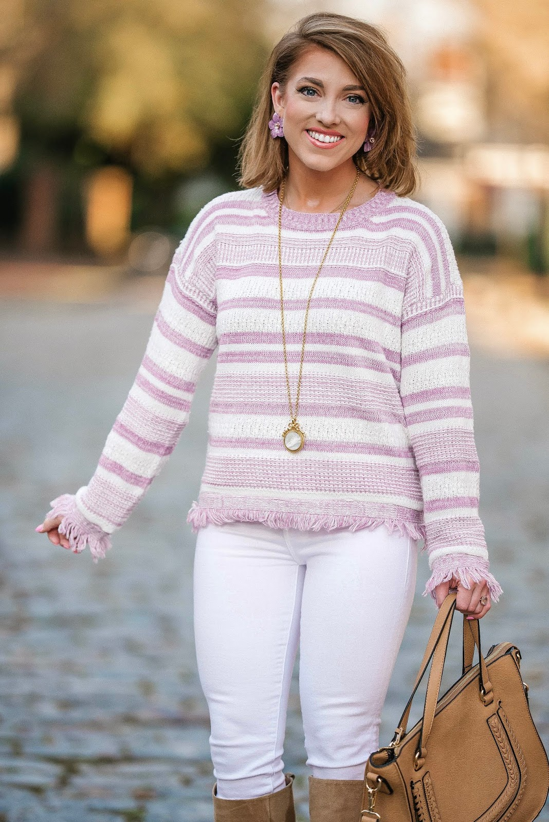 Lavender Love: Pre-Spring Look - Something Delightful Blog