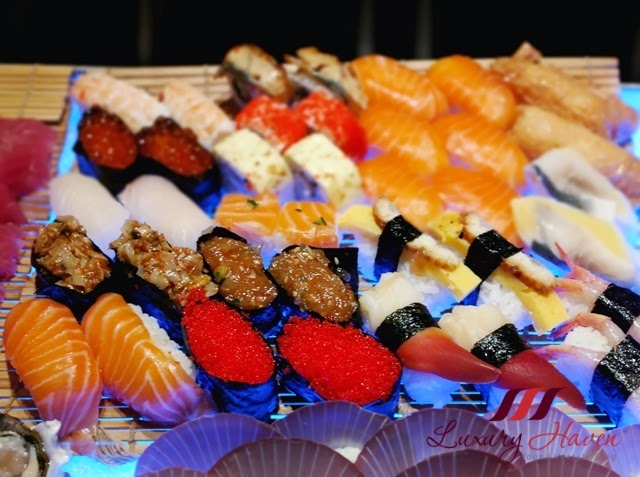 concorde hotel spices cafe harvest of sea buffet sushi