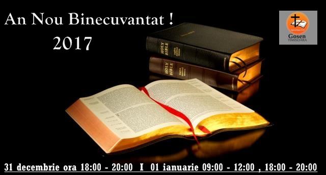 An Nou Binecuvantat 2017