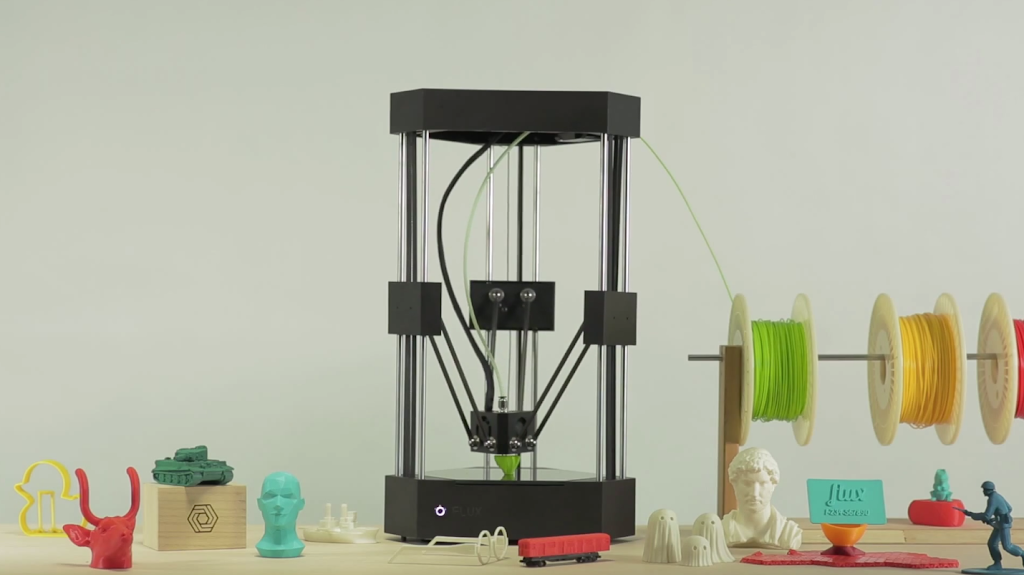 FLUX推第三方擴充3D印表機,9月將上Kickstarter募資