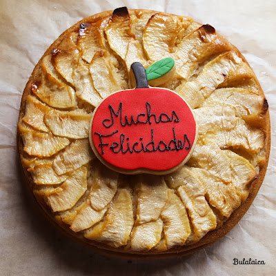 Tarta de manzana Bulalaica