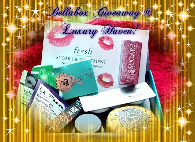 bellabox luxury haven lifestyle blog giveaways