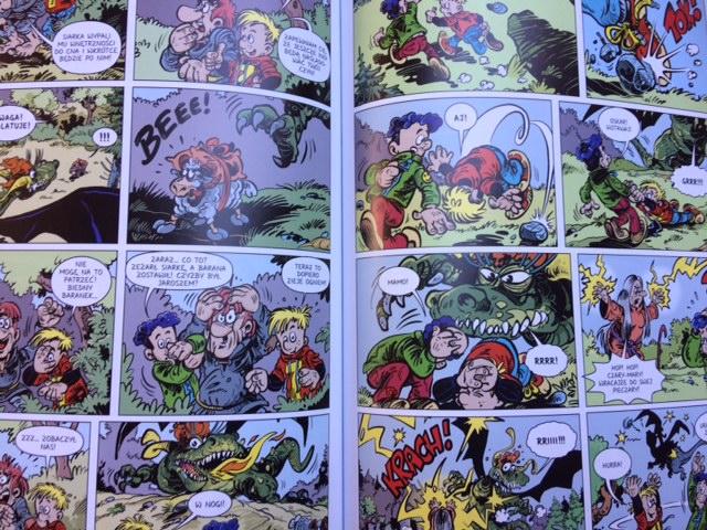 komiksy polskie dla dzieci
