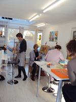 schildercursus Doetinchem Achterhoek Atelier for Hope. Volwassenen