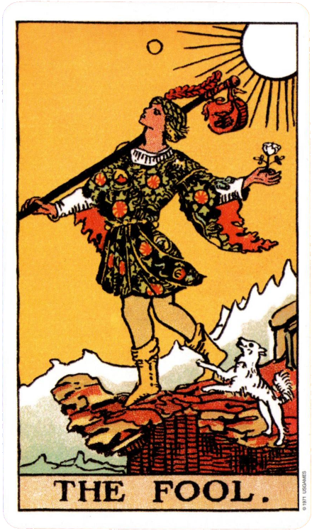 Original Rider Waite Tarot  The Fool