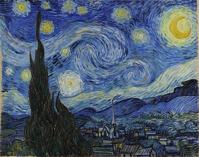 The Starry Night 1889/Starry Night, (1889), Van Gogh