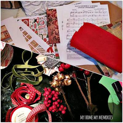 χριστουγεννιάτικα-τραγουδια-κορδέλες-στολιδια