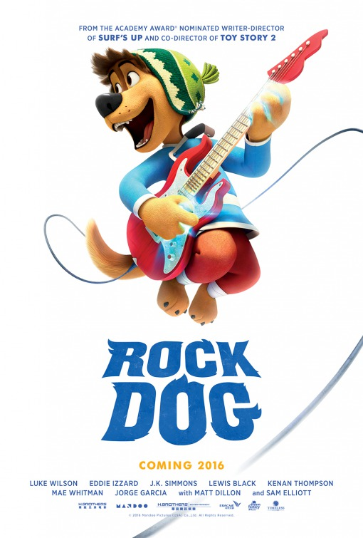 Rock Dog – No Faro do Sucesso Legendado