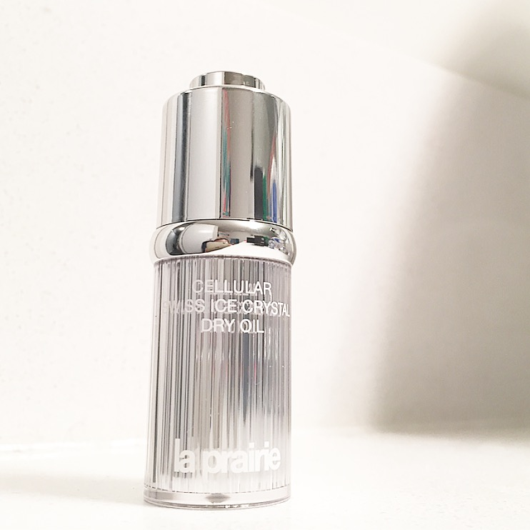 La Prairie Cellular Swiss Ice Crystal Dry Oil: A quick review