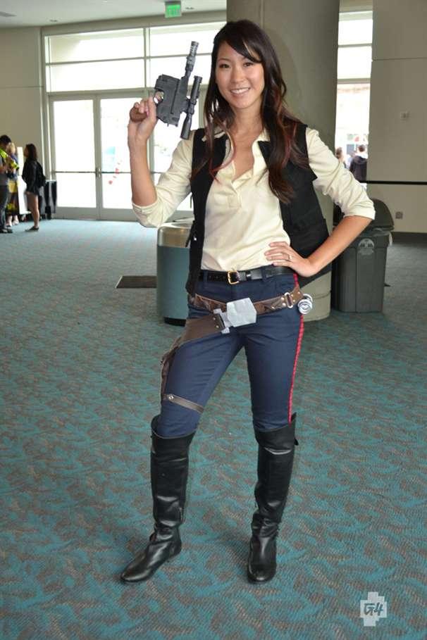Han solo female cosplay