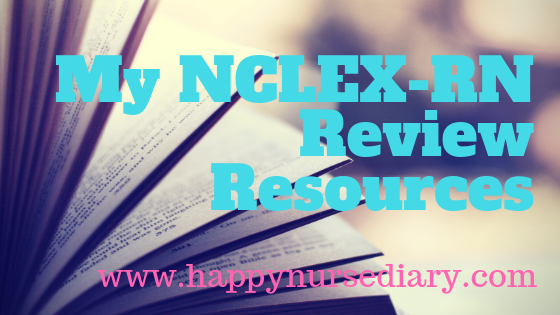 My NCLEX-RN Review Resources
