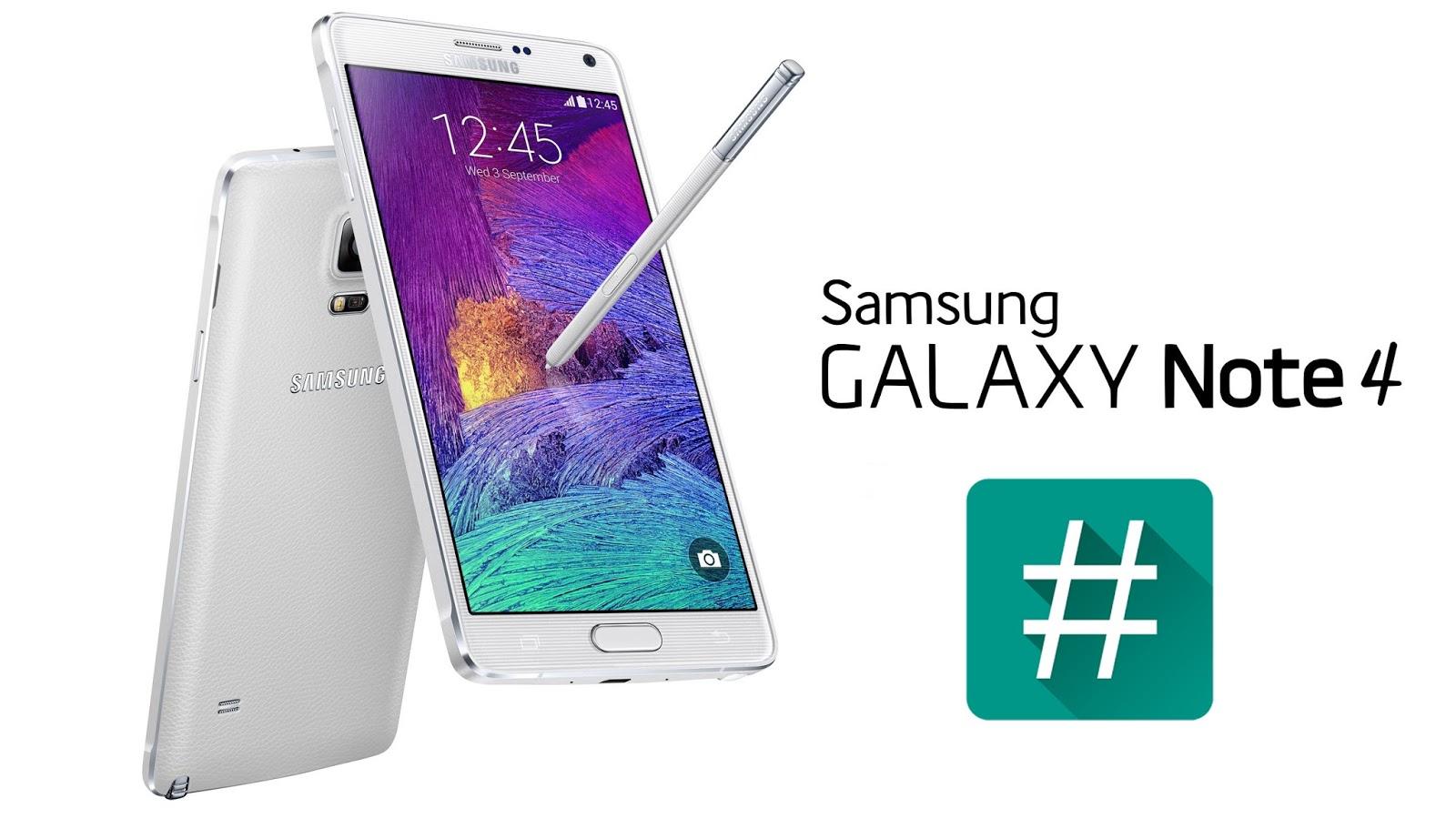 Samsung Galaxy Note 4 SM-N910H ဖုန်းဗားရှင်း 6 0 1