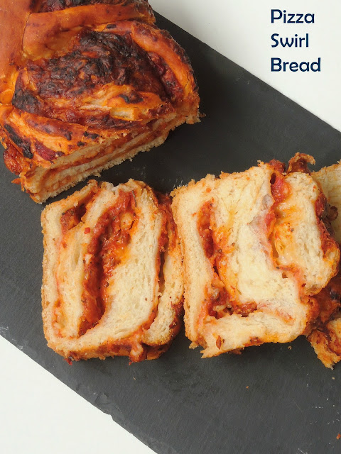 Pizza Bread, Swirled Pizza Bread