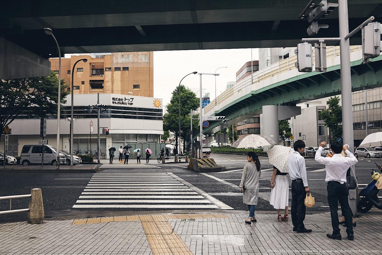 Rainy day in Nagoya, Japan