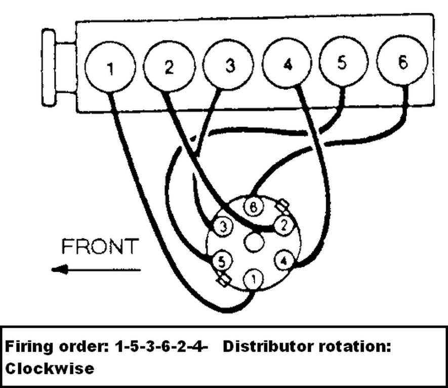 Firing Order Inline 8 Cylinder Diesel Engine