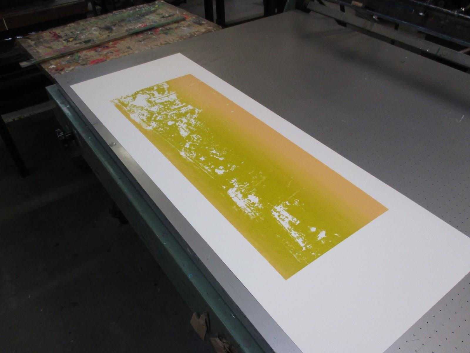 de eerste drukken in kleur