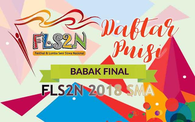 FLS2N SMA 2018 - Puisi Final