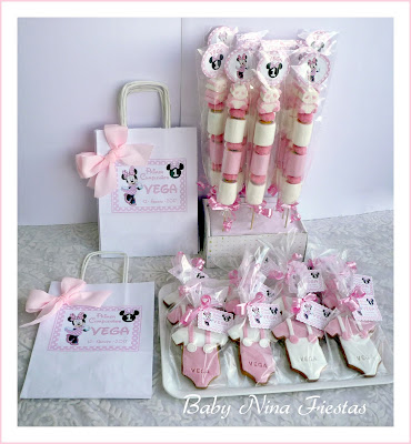 kit cumpleaños minnie mouse en rosa