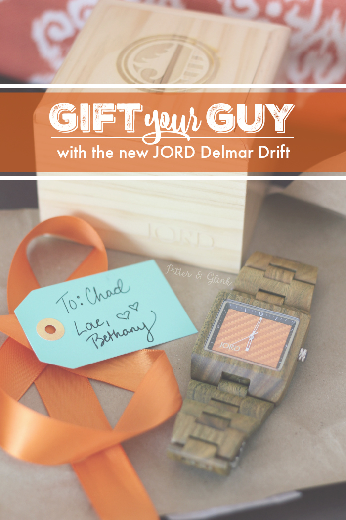 Gift Your Guy with the Brand New, Limited Edition JORD Delmar Drift | pitterandglink.com