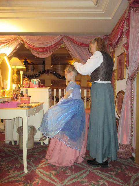 Princess for the day at Disneyland Paris