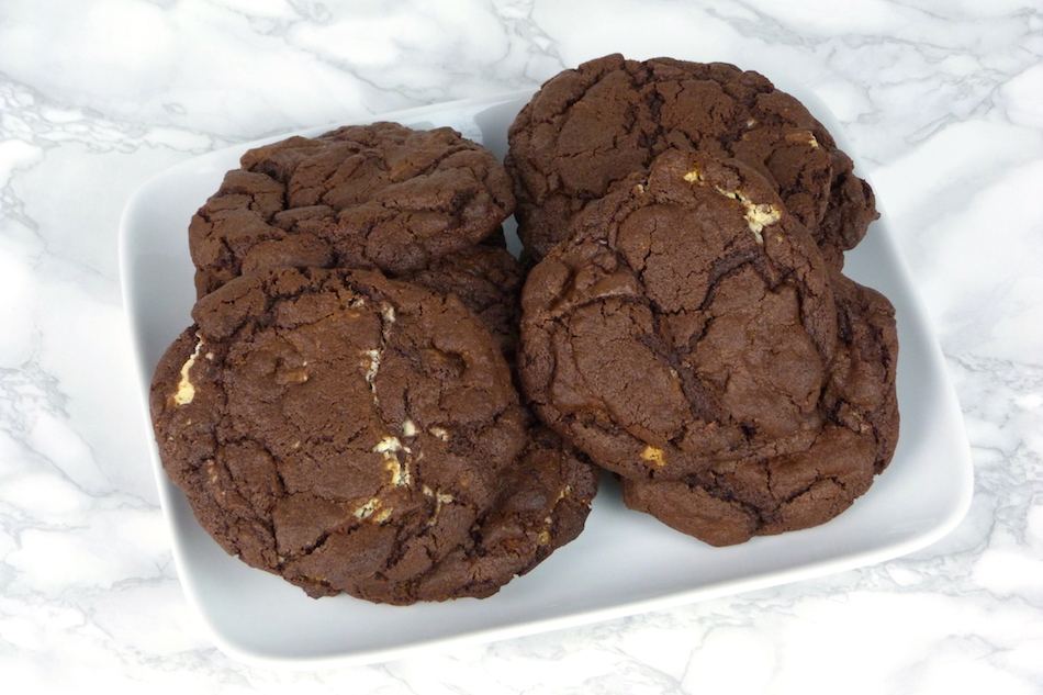 an image of The Ultimate Triple Chocolate Cookie