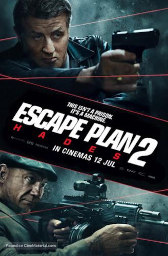 Escape Plan 2: Hades (BRRip 720p Dual Latino / Ingles) (2018)