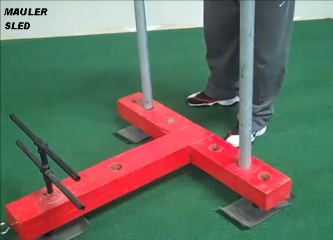 Homemade Push Pull Mauler Sled Diy Strength Training Geardiy