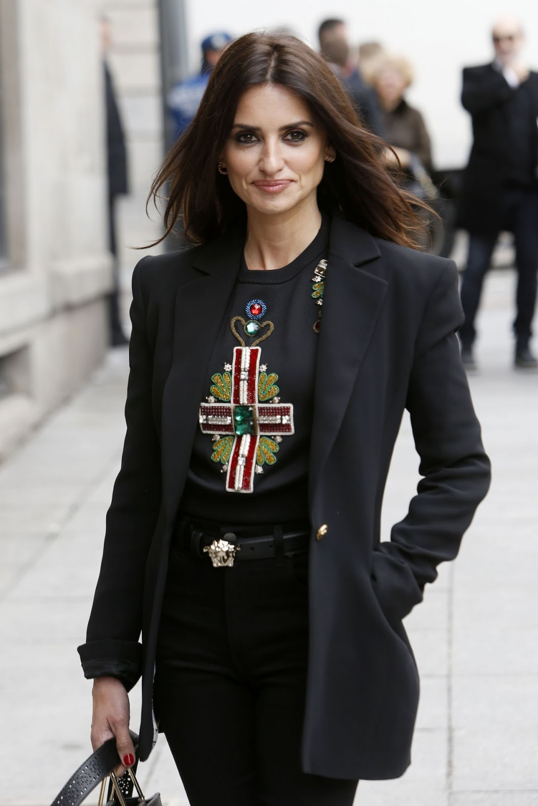 "Penelope Cruz at Ceremony of Delivery the ""Adoptive Son"" Title by the City of Madrid"